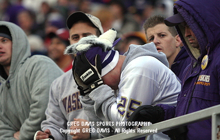 Unhappy Husky fans - Apple Cup 2008